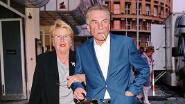 František Němec s manželkou