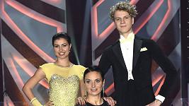 Zdeněk Piškula a jeho dvě tanečnice Veronika a Romana