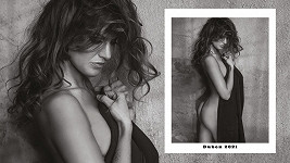 Gabriela Koukalová se fotila pro Playboy a kalendář.