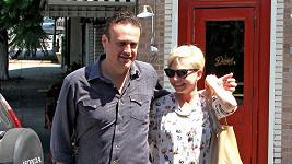 Michelle Williams a Jason Segel na archivním snímku.