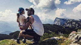 Vašek Noid Bárta s dcerou rád cestuje.