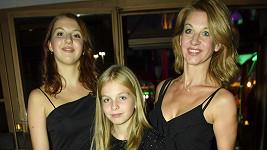 Sabina Laurinová s dcerami