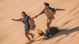 Moderátor Snídaně si užíval pár dní v Egyptě po boku vnadné modelky.