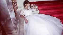 Renáta Czadernová ve svatebních šatech