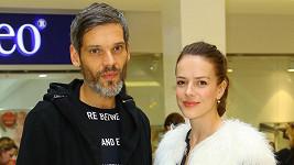 Andrea Kerestešová s manželem