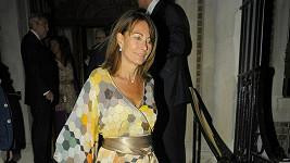 Carole Middleton je opravdu atraktivní dáma.