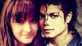Paris Jackson se svým zesnulým otcem Michaelem.
