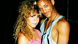 Will Smith a Mariah Carey na snímku z roku 1988