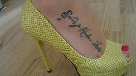 Tohle je Markétino tetování.