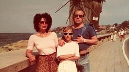 Dara s rodiči na dovolené.
