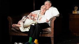 Carmen Mayerová a Petr Kostka ztvární ve hře Oscar pro Emily stárnoucí herecký pár.