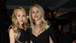 Šárka Grossová s dcerou Denisou