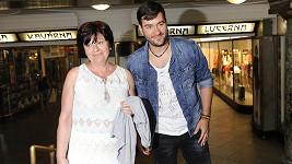 Marek Ztracený s maminkou