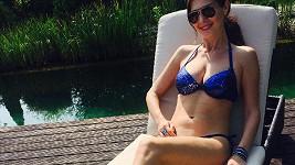 Jana Doleželová vypadá krátce po porodu v bikinách fantasticky.