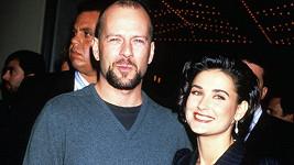 Demi Moore a Bruce Willis byli manželi mezi lety 1987 a 2000.