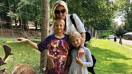 Jitka s dětmi