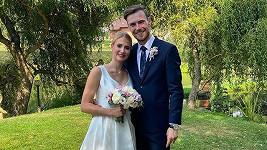 Tanečník Dominik Vodička se oženil.