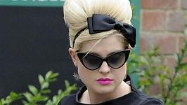 Nejlepší kamarádka Amy Winehouse Kelly Osbourne.