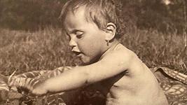 Lucie Bílá jako malé dítě