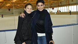Vlaďka Erbová s dcerou