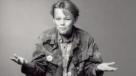 Roztomilý Leonardo DiCaprio ve své první herecké úloze.