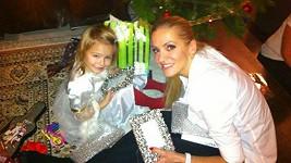 Dara Rolins s dcerou Laurou
