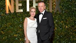 Gillian Anderson a Peter Morgan se rozešli
