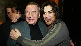 Miroslav Dočekal se Sagvanem Tofim na fotce z roku 2004.
