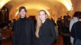 Jiří Strach s manželkou