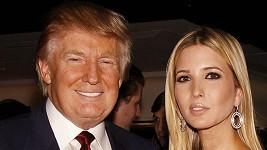 Ivanka Trump s otcem Donaldem Trumpem.