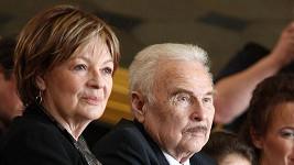 Jana Hlaváčková s manželem Luďkem Munzarem