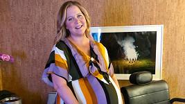 Amy Schumer prozradila pohlaví miminka.