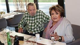 Jiřina Bohdalová se setkala s exmanželem Břetislavem Stašem.