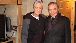 Karel Gott a Michael Douglas