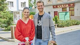 Ondřej Studénka s kolegyní z Ulice Veronikou Čermák Mackovou