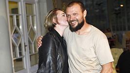Tomáš Ujfaluši s přítelkyní Markétou