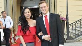 Tammy Sutan a Tomáš Verner působili jako zamilovaný pár.