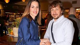 David Křížek s manželkou, moderátorkou Lucií Křížkovou