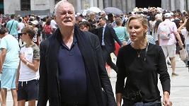 John Cleese a jeho čtvrtá žena Jennifer Wade