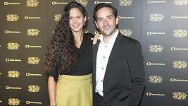 Matouš Ruml s manželkou
