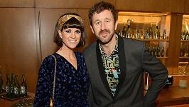 Chris O'Dowd s manželkou Dawn O'Porter