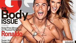 Alessandra Ambrosio a Cristiano Ronaldo
