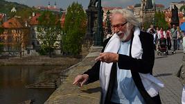 Pierre Richard v Praze.