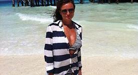 Jana Adamcová si s rodinkou užívá báječný relax na Zanzibaru.