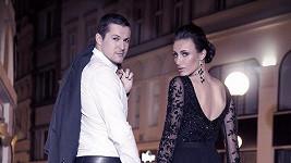 Společné foto Táňi a Zdeňka v kampani.