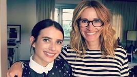 Julia Roberts s neteří Emmou, která je také herečkou.