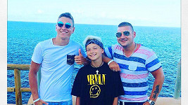 David Gránský s bratry