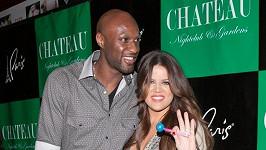 Khloe Kardashian s manželem Lamarem.
