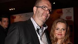 Richard Müller s těhotnou přítelkyní Vandou Wolfovou.
