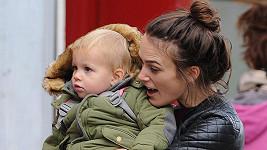 Keira Knightley s dcerkou Edie